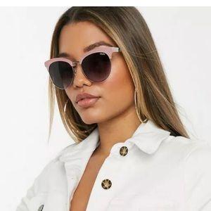 Quay Australia Cherry Pink Sunglasses